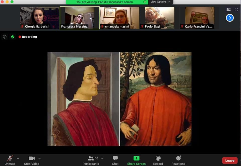 Visita virtuale alla scoperta della Famiglia Medici